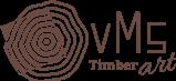 VMS Timber mucveida pirtis logo